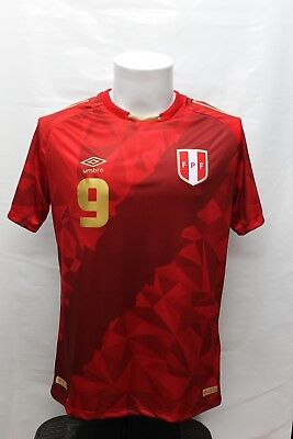 Umbro Peru Jersey Shirt Red Limited Edition World Cup Russia 2018 Guerrero 0f19f4016