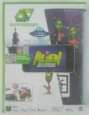 APPGEAR Alien Jailbreak Mobile Application Game in box works w iPhone iPad NEW