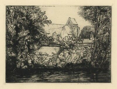"""""""River Song Number Three"""" by Donald Shaw MacLaughlan - Signed etching"""