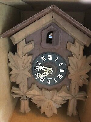 JJ B249 VINTAGE BLACK FOREST West Germany CUCKOO CLOCK