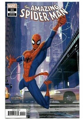 Amazing Spider-Man #11 (2018) Into The Spider-Verse Animation Variant Cover 1:10