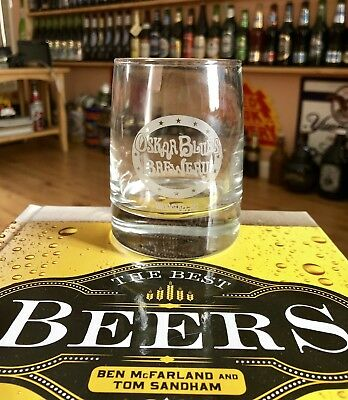 Oskar Blues Brewery 10 Oz Rocks Beer Glass - Brevard, North Carolina. New. Nice!