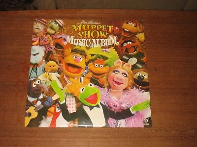 Jim Henson's Muppet Show 'Music Album' Portugal-issue Pye Records stereo LP