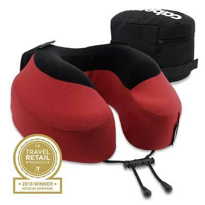New Cabeau Evolution S3 - Memory Foam Neck Pillow + Seat Straps + Washable + Bag