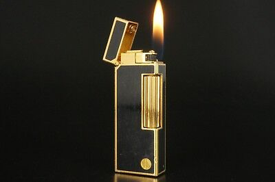 Dunhill Rollagas Lighter Refurbished NewOrings Working Over hauled Vintage #827
