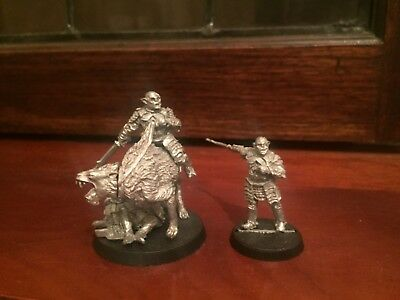 Lord of the rings warhammer gothmog foot and mounted metal rare