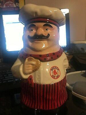 Chef Cookie Jar Boston Red Sox