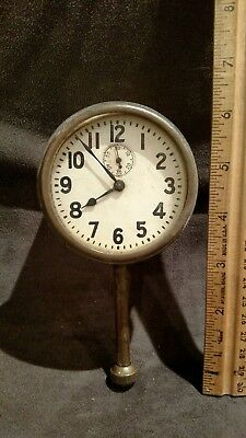 Vintage Car Clock Dashboard - In Working Condition