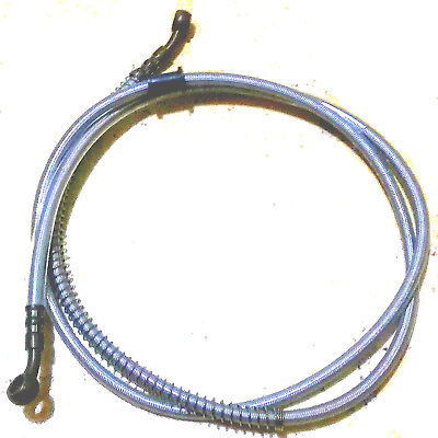 62 Inch Brake Cable 10Mm Thread For Street Legal Moped Scooter