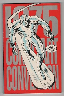 1975 Comic Art Convention Book Jack Kirby Silver Surfer cover Phil Seuling