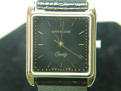 "Mens Rare & Vintage Wittnauer ""continental"" Swiss Watch Nos  #6145001-4  Wow!!!"