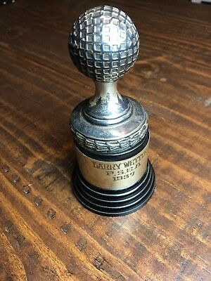 Vintage/ Antique Dodge Trophy Larry Wetter P.S.E.A 1937 Golf Trophy