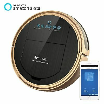 Proscenic Alexa automatic vacuum cleaner Robot Carpet Wet Mopping Map Navigation
