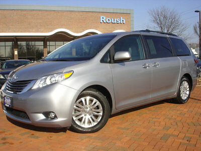 2015 Toyota Sienna 5dr 8-Passenger Van XLE AAS FWD BLIND SPOT ALERT+CURRENT TRAFFIC UPDATE DISPLAY!