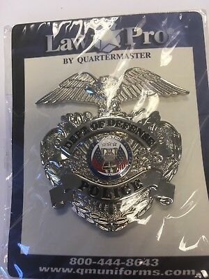 Department of Defense Hat Badge Obsolete Silver