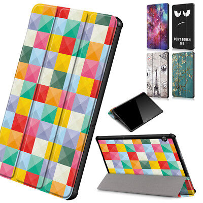 Universal Leather Fold Smart Stand Case Cover Tablet For Huawei MediaPad T5 10
