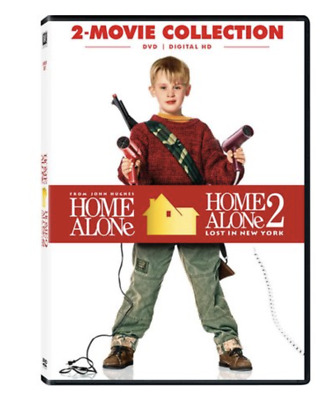 NEW & SEALED Home Alone DVD 1 and 2 Movie Collection Dolby Dubbed Subtitled
