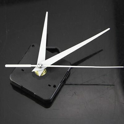 Quartz Battery Wall Clock Movement Mechanism DIY Repair Tool Replace Parts Balck