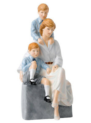 Royal Doulton Remembering Diana A Loving Mother Limited Edt Figurine HN5857 New