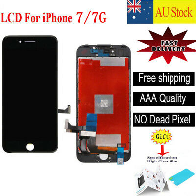 """For iPhone 7 4.7"""" LCD Display Touch Screen Digitizer Replacement Black"""