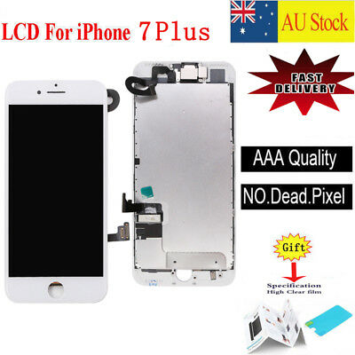 For Apple iPhone 7 Plus LCD Screen Replacement Touch Digitizer + Camera White