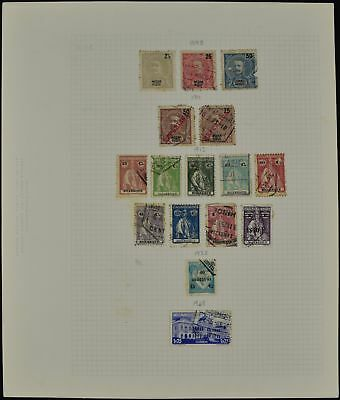 Mozambique Album Page Of Stamps #V7668