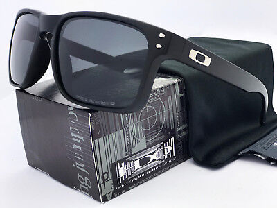Sunglasses-Polarized-Holbrook Matte Black/Gray Iridium