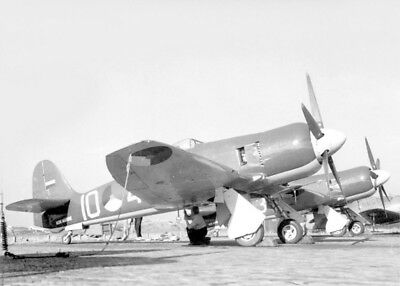 "Photo 7x5"" HAWKER SEA FURY  -001a"