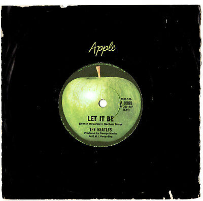 """The Beatles - Let It Be / You Know My Name - 7"""" 45 Vinyl Record"""