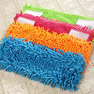 Extendable Microfibre Floor Mop Cleaner Sweeper Head Wet Dry Cleaning Color Gift