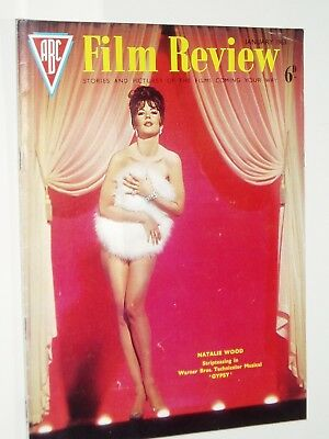 """ABC FILM REVIEW magazine..(January 1963)..NATALIE WOOD """"Gypsy""""  cover"""