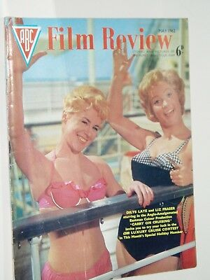 ABC FILM REVIEW magazine..(May 1962)..CARRY ON CRUISING  cover
