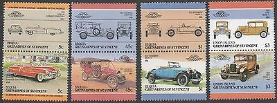 Grenadines of St.Vincent.  1984 Leaders of the World - Automobiles. MNH