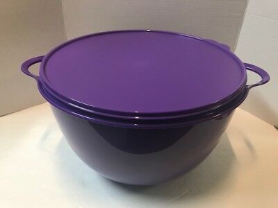 Tupperware Thatsa Bowl 42 Cups  -- 10L Purple / Seal New!!!