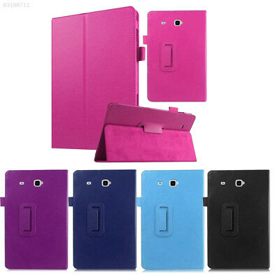 AD2A For Samsung Galaxy Tab T580/T585 Tablet PU Leather Flip Stand Cover Case