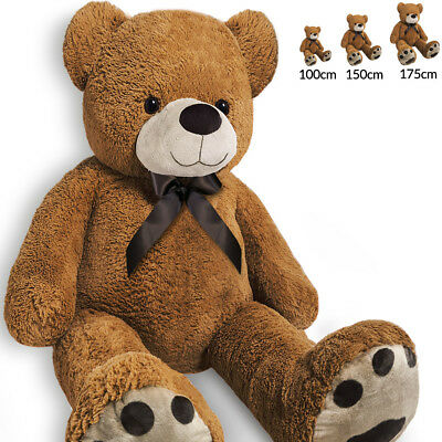 XXL Teddy Bear Plush Large Giant Soft Christmas Valentines Gift Huge Kids Toy