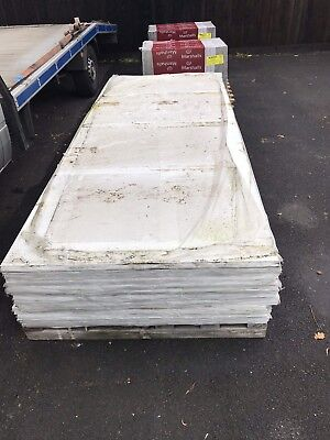 Slight Damaged Cement Exterior Cladding Boards 10ft X 4ft X 6mm