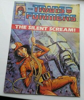 transformers the comic featuring bumble bee star scream issue 137 1987