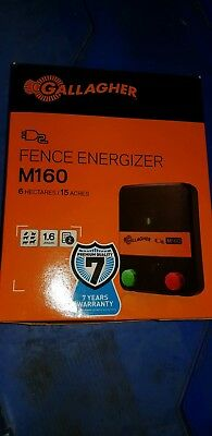 Gallagher M160 Fence Energiser 1.6 joules 038430  (20X)