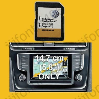 2018-2019 V12 VW Discover Media Navigation AT Map UK GB Europe Sat Nav SD Card