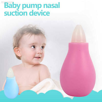 9377 Toddler Snot Aspirator Nasal Suction Device Useful 2 Colors Silica Gel