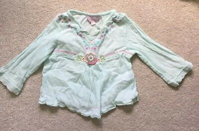 Baby Girl's Monsoon Boho Top - Age 6-12 Months