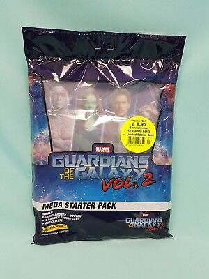 Panini Guardians of the Galaxy Vol. 2  Starterpack Sammelmappe Trading Cards