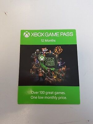 Xbox Game Pass 12 Month Code (fast delivery per mail) + 1 Month free
