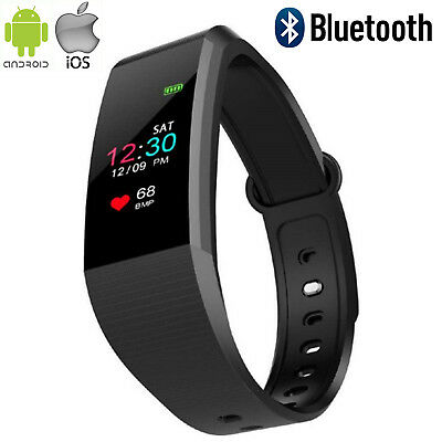 Smartwatch Cardiofrequenzimetro Bluetooth Sport Fitness Ios Android Contapassi