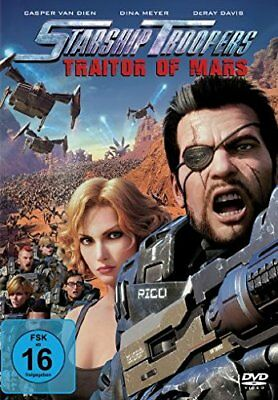 Starship Troopers - Traitor of Mars - DVD  QTVG The Cheap Fast Free Post