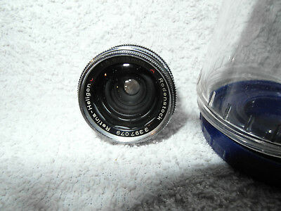 KODAK Retina wide angle 5,6-35 mm Rodenstock,clean and working ! Deutsch auch da