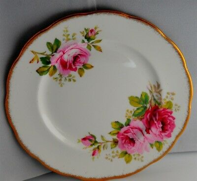 1- Royal Albert American Beauty Tea Plate ( 10 Available )