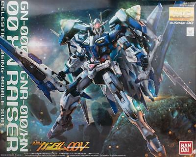 Bandai MG 1/100 GN-0000 + GNR-010/XN 00 XN Raiser Celestial Being MS 00V