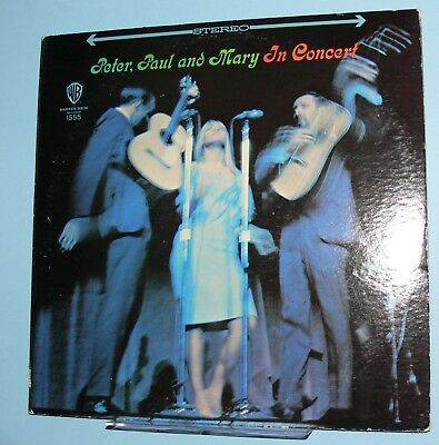 Peter, Paul and Mary - In Concert. two LP records